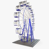 Carousel Ferris Wheel Rigged