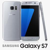 3ds samsung galaxy s7 silver