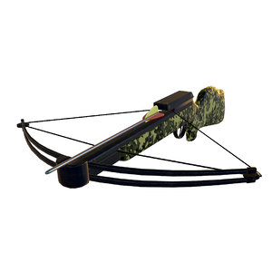 crossbow realistic weapon 3d model