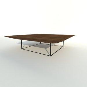 modern ibiza table 3d model