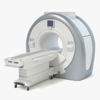 mri machine 3d 3ds