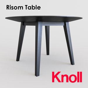 risom table max free