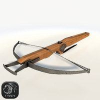 Crossbow low poly