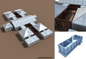 event tents 3d model