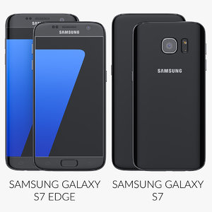 3d flagship samsung galaxy s7 model