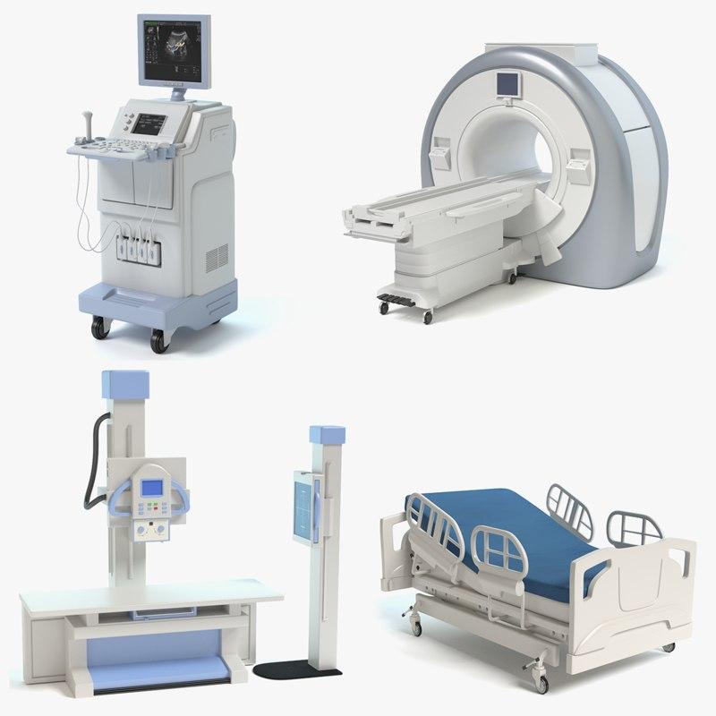 3d model medical equipment