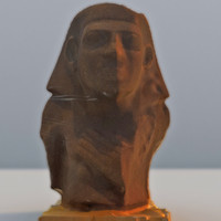 pharaoh head 3d max