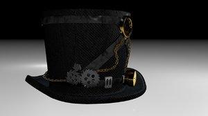 hat steampunk c4d