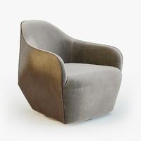 3d walter knoll isanka chair
