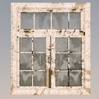 old window 3d c4d