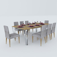 modern dining table max