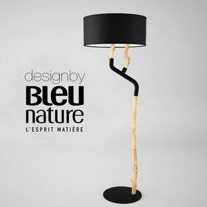 bleu nature outline 3d max