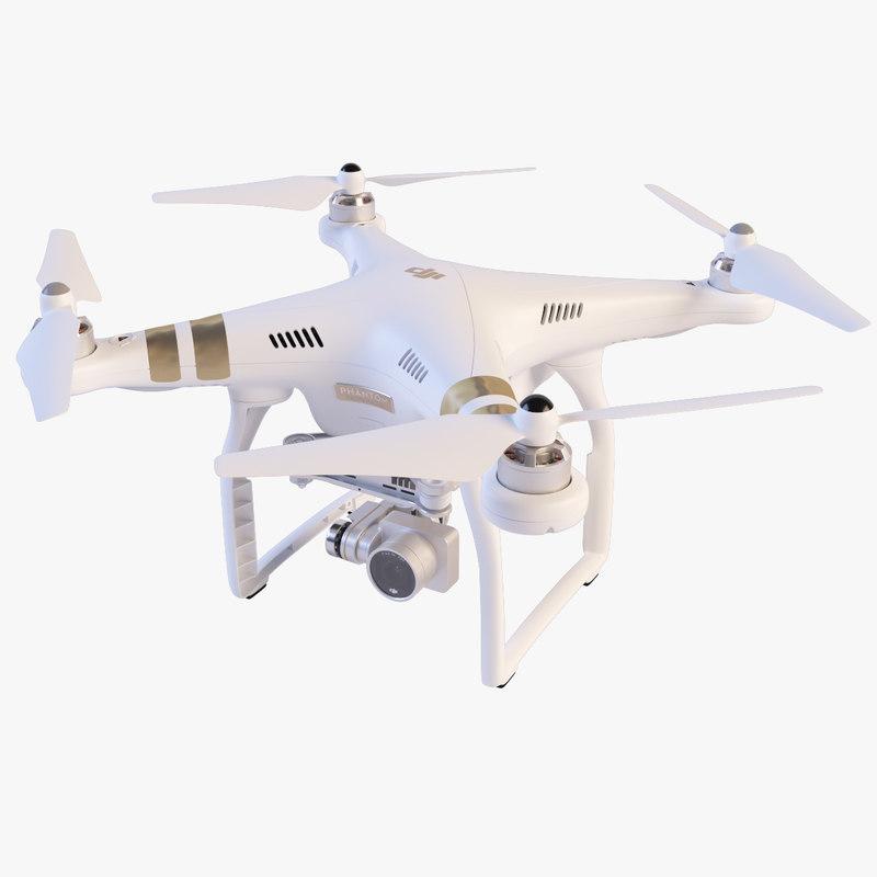 3d quadcopter dji phantom 3