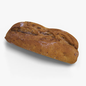 3d model bread ready unreal