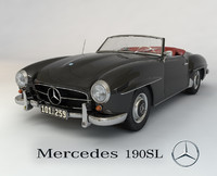 Mercedes 190SL cabriolet
