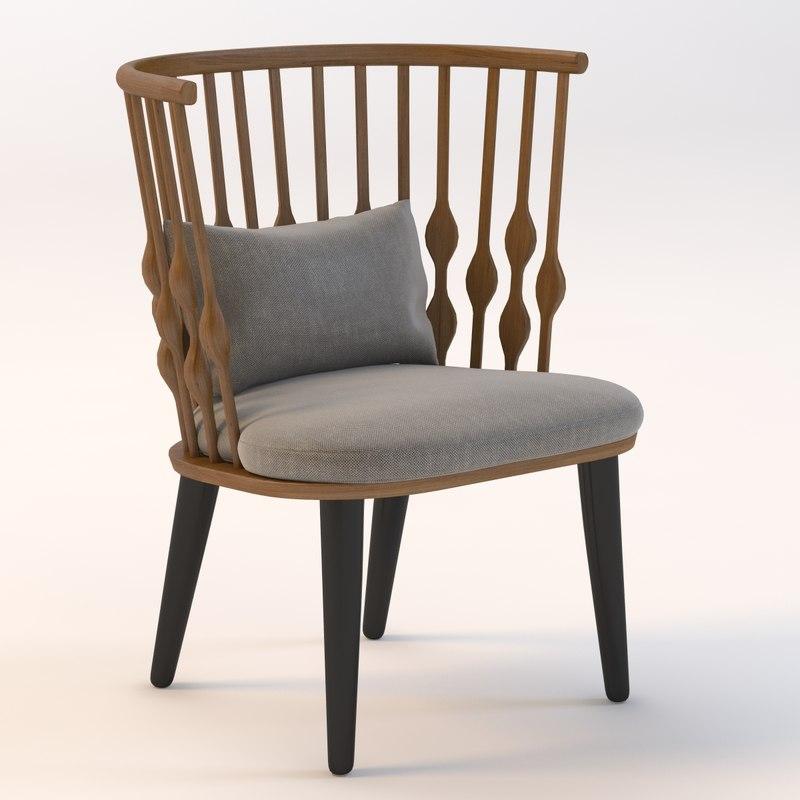 lounge nub 3d model