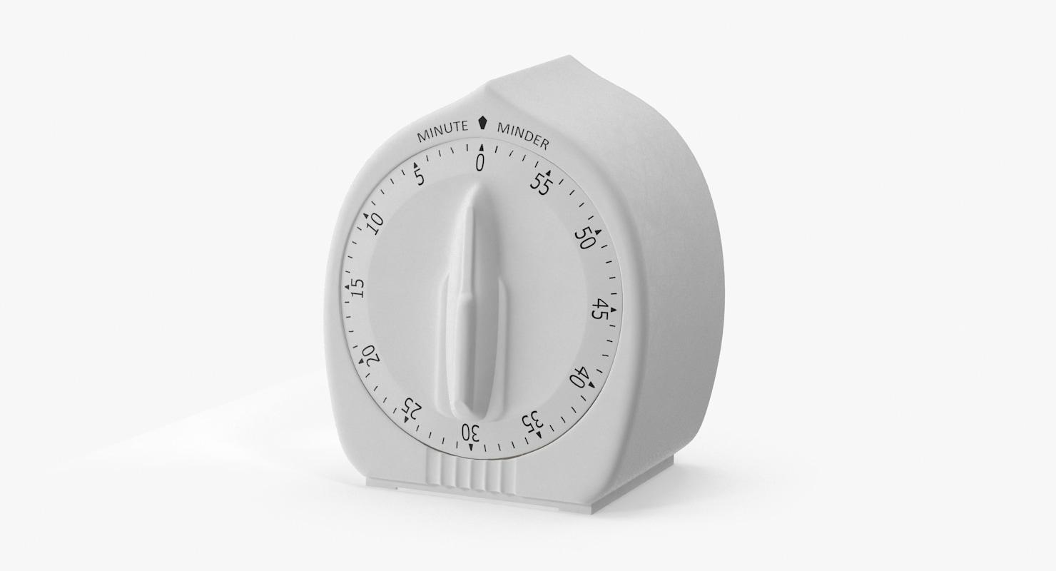 kitchen timer 0 3d model