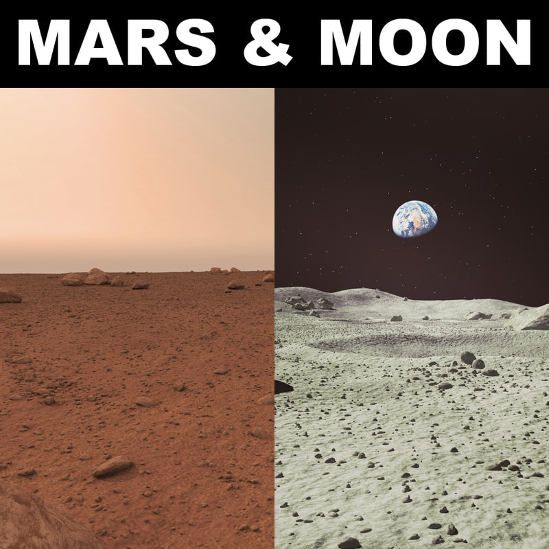 max mars moon surface