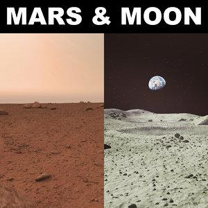 max mars moon surface