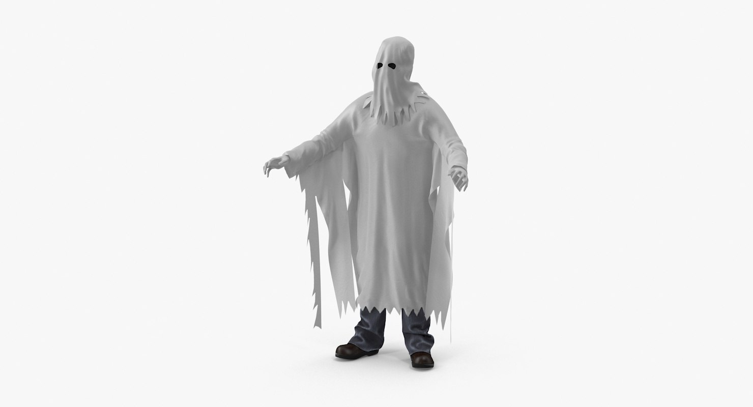 3d max ghost costume