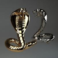 3d cobra model