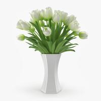 Tulips in Vase 4