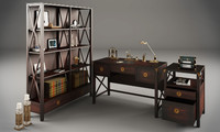 3d laura ashley balmoral office model
