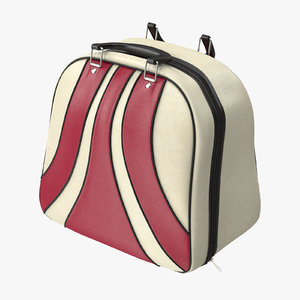 bowling bag 3d model