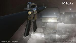 3d m16 a2 rifle
