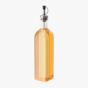 oil bottle 02 3d max