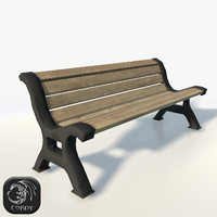 Park bench 03