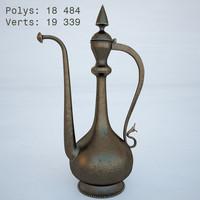 arabian jug 3d max