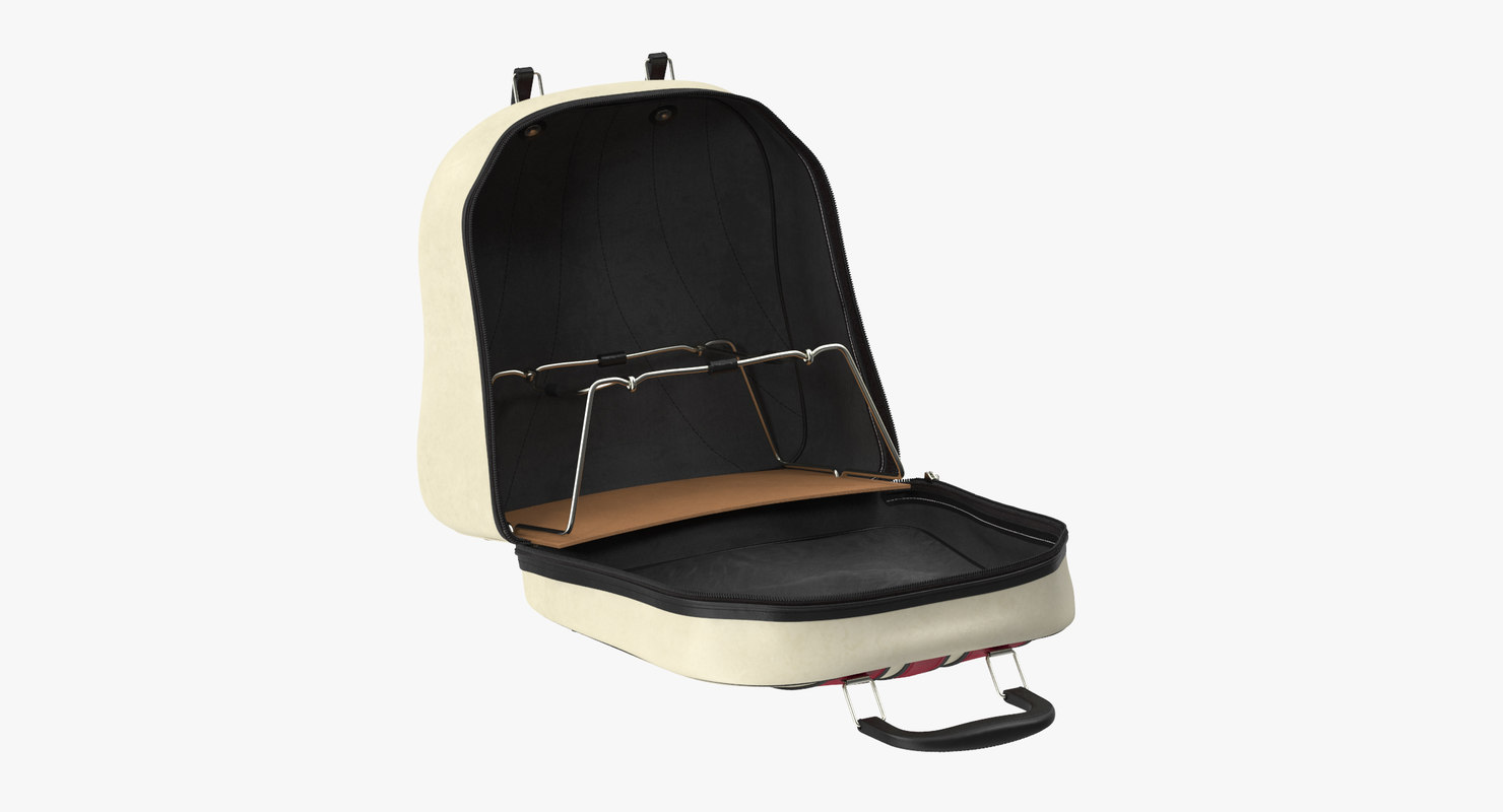 open bowling bag 3d model