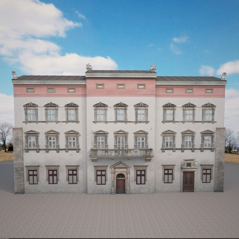 3d model building design