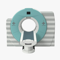 ct scanner 3d model