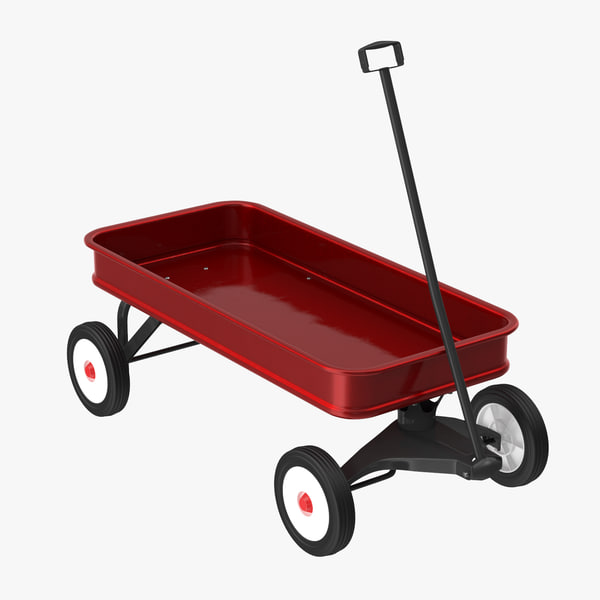 c4d child s wagon 02