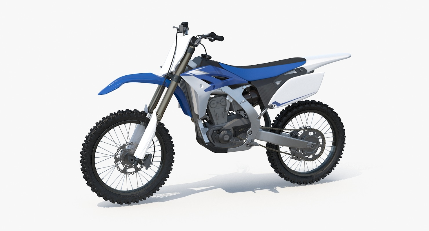 3d model 2013 yamaha yz250f motocross
