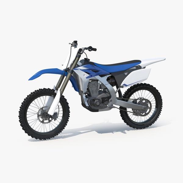 3d model 2013 yamaha yz250f motocross