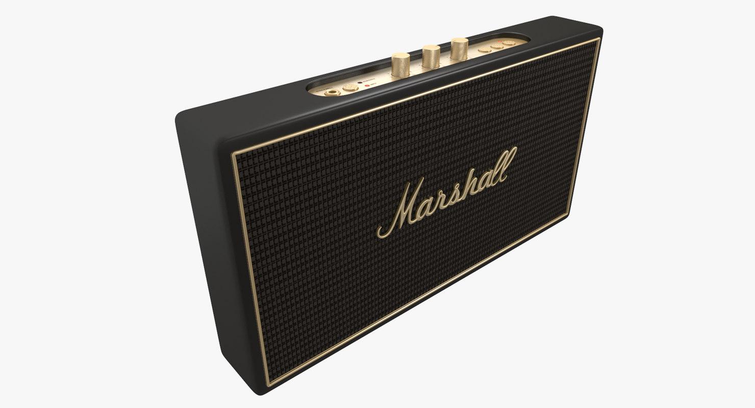 3d marshall stockwell model