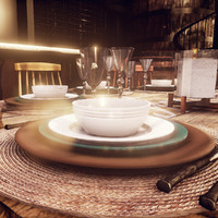 modern dinner plate sets - Unreal Engine