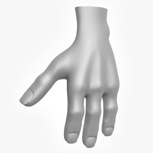creature hand 3d max