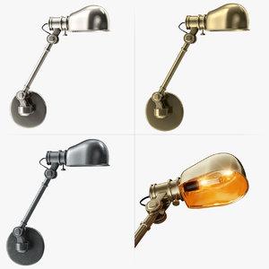 wall lamp 3d max