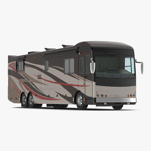 3d model american recreation vehicle rv