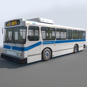 3d res city bus
