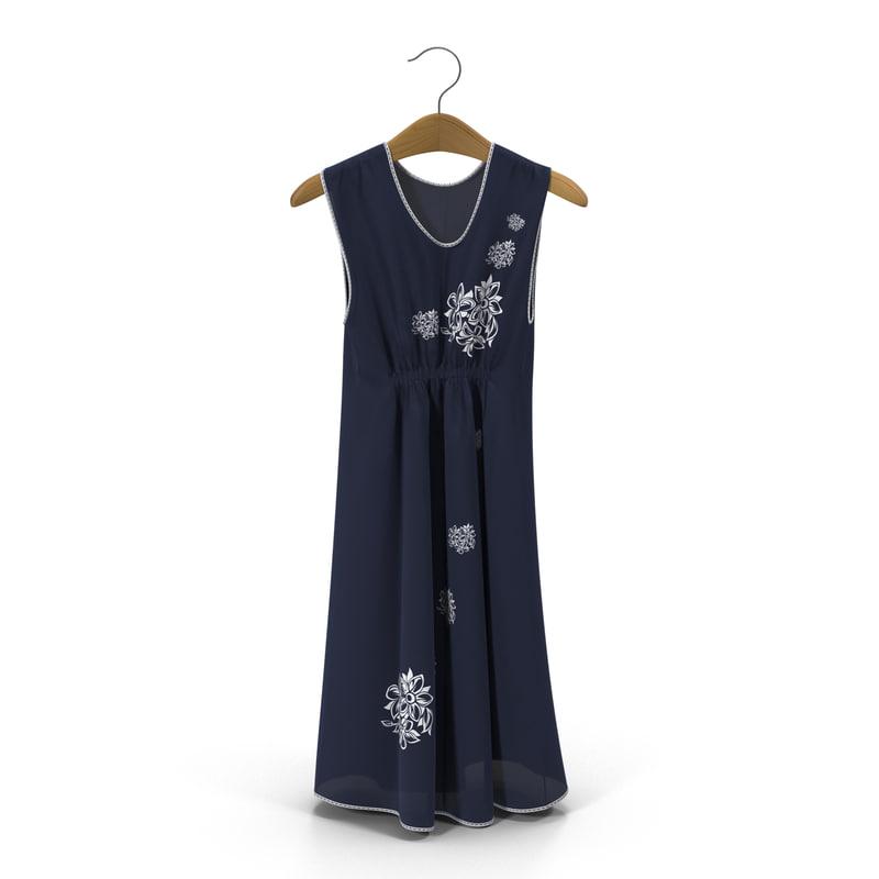 dress hanger 3d 3ds