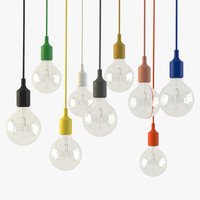 3d model muuto e27 light