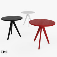 tripod table west elm 3ds free