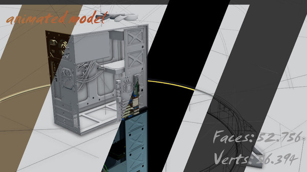 personal computer pc 3d model