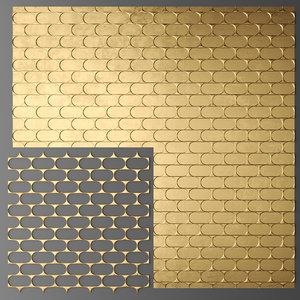 panel lattice grille obj