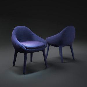 ripple-chair 3d max